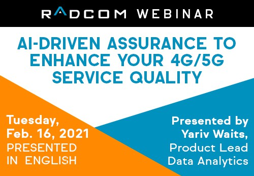 AI-Driven Assurance to Enhance Your 4G/5G Service Quality
