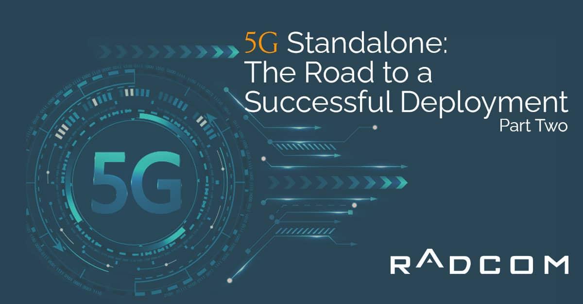 5G standalone deployment